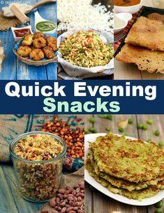 झट पट शाम के नाश्ते की रेसिपी, Quick Evening Snack Recipes in Hindi Evening Snacks Indian, Healthy Evening Snacks, Healthy Indian Snacks, Quick Healthy Snacks, Healthy Brunch, Easy Snacks, Indian Food Recipes, Indian Snacks For Kids, Evening Snacks For Kids