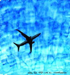 ~ 파랑을 뚫는 비행기 ~ http://m.blog.naver.com/nam5050/220496413032 오늘의 그림입니다