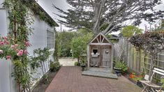 Playhouse on the patio of By~The~Way