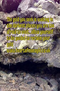 The gold you seek...
