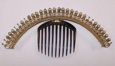 Superb old antique diademe beads pearls tiara comb crown jewel   Art, antiquités, Objets du XIXe et avant   eBay!