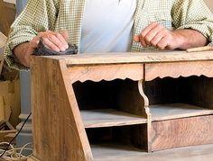 recuperar un mueble barnizado