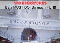 So much fun! WonderWorks in Pigeon Forge TN. A Must do! http://www.time2saveworkshops.com/wonderworks-tn-its-a-must-do-so-much-fun/