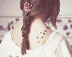 I'm obessed with small bird tatoos<3