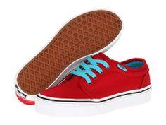 Vans Kids 106 Vulcanized (Little Kid/Big Kid) Chili Pepper/Scuba Blue - Zappos.com Free Shipping BOTH Ways