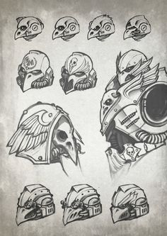 imperium info lineart savier sketch space_marines