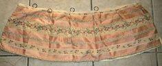 Darling Antique Victorian Doll Fabric Cotton Brocade by RuinsCa, $42.00