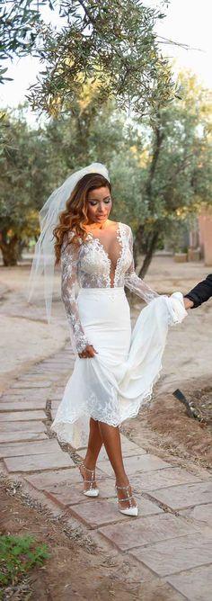 Breathtaking #BERTA bride Sirina ♥