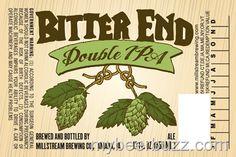 mybeerbuzz.com - Bringing Good Beers & Good People Together...: Millstream Brewing - Bitter End DIPA