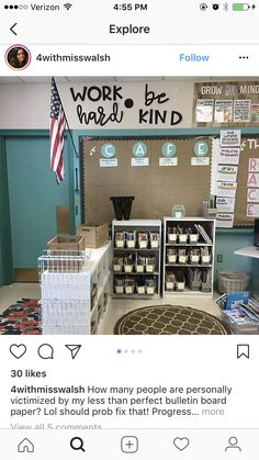 "Bookshelf to ""funnel"" people in a certain way in the door? 4th Grade Classroom, High School Classroom, Classroom Setting, Classroom Setup, Classroom Design, Kindergarten Classroom, Future Classroom, Classroom Organization, Classroom Wall Decor"