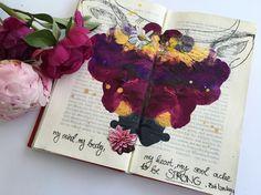 @sarahundfuchs | Season of Introspection | Get Messy Art Journal |