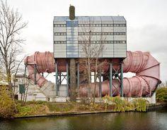 Berlin Technical University | Berlin-Charlottenburg Circulation and cavitation tunnel for the hydraulic testing plant 1968 – 1972 Architect: Ludwig Leo