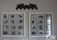 This might be the easiest gallery wall idea yet!