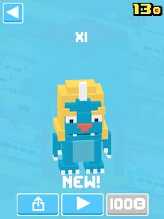 This is all of the characters that is got on crossy road .