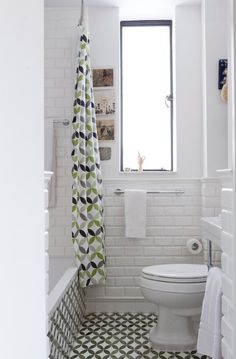 Love the towel bar by Hansgrohe and the Kohler Bancroft toilet