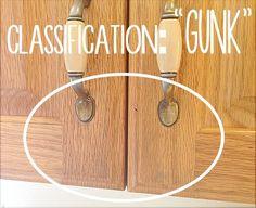 Secret to Cleaning Gunky Kitchen Cabinets | Pinterest | Baking soda ...