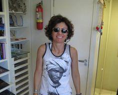 Sueli - Essa camiseta é o desenho de um Artista conhecido em Salvador - Praia do Forte - 17/Fev/2009