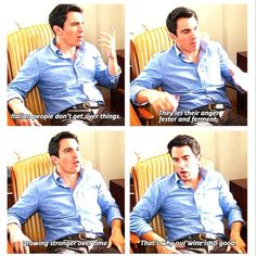 """Danny Castellano explains angry italians and their wine on 3x2 """"Crimes & Misdemeanors & Ex-BFs"""" of #TheMindyProject #hilarious"""