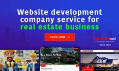IMPROVE REAL ESTATE BUSINESS with a user-friendly website.  Hire web development service of SynapseIndia to reach customers widely.  GET READY TO GENERATE MORE LEADS with an exclusive property listing. Website Development Company, Web Development, Real Estate Business, Property Listing