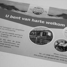 Flyer ontworpen voor TopParken