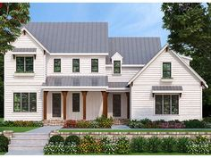 ePlans Farmhouse House Plan – Farmhouse With Updated Features – 2760 Square Feet and 4 Bedrooms from ePlans – House Plan Code HWEPL78213