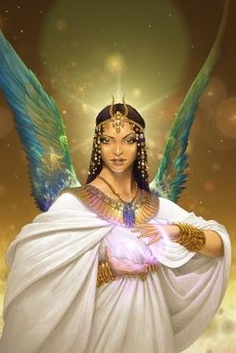 isis is the egyptian goddess of magic and motherhood who was born during the fourth