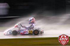 Karting in the rain