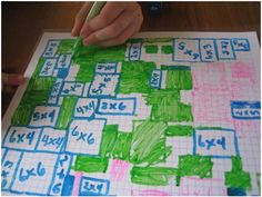 No Prep Multiplication Grid Game - Teach Junkie