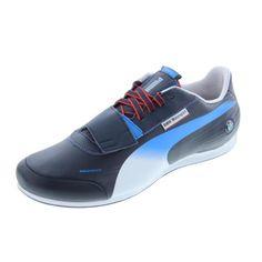 Puma Mens evoSPEED Low BMW 1.2 NM Leather Signature Motorsport Shoes