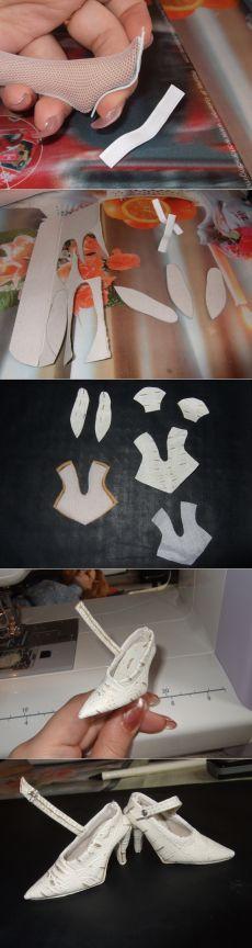 MK para el zapato con un tacón muñeca