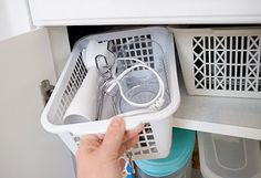 7 Pro Tips To Nail Your Baking Cabinet Organization Craftsonfire : For some, a nightmare may be described as a monster with claws ready to tear to you apart but for those that are always in the kitchen, their personal nightmare is none other than a disor Kitchen Appliance Storage, Clutter Organization, Kitchen Cabinet Organization, Small Kitchen Appliances, Kitchen Cabinets, Organization Ideas, Baking Organization, Storage Ideas, Pantry Storage