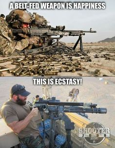 650 rounds per min is good, but 4500 rounds per minute is BETTER.so true.