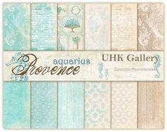 Provence AQUARIUS -zestaw papierów - PREORDER - premiera 25.05 :: UHK Gallery