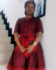 African Print Dresses, African Dresses For Women, African Attire, African Fashion Dresses, Xhosa Attire, African Print Clothing, African Print Fashion, African Prints, African Fabric