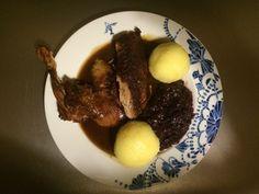 Ente zubereiten und genießen Mittagessen 30. November 2014