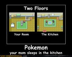 Can't believe I NEVER noticed this while playing Pokemon....
