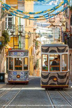 @ Elevador da Bica, Lisbon, Portugal by António Laranjeira on 500px