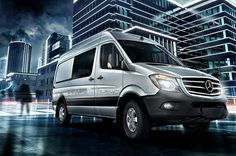 #Sprinter: the ultimate commercial #van!