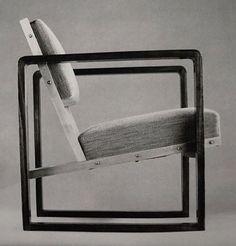 CAV # — 365-trees: 1928 Club Chair by Josef Albers ...