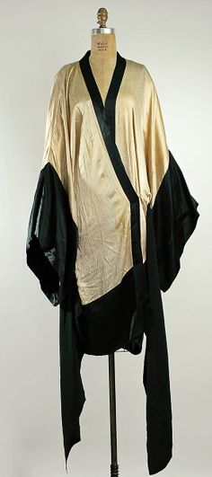 Dress Attributed to Callot Soeurs (French, active 1895–1937) Date: ca. 1918 Culture: French Medium: silk