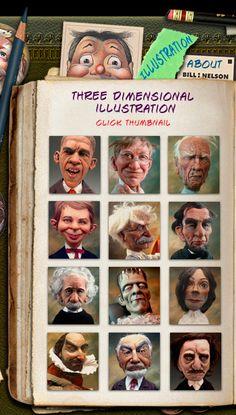 3D Illustration by Bill Nelson. Checkout more at www.billnelsonstudios.com.