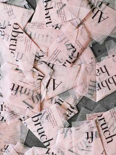 #Pink paper.