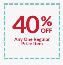 Michaels Coupon: 40% Off Any Regular Price Item