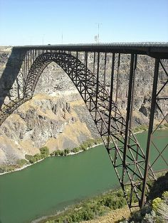 Twin Falls Bridge - Idaho, US