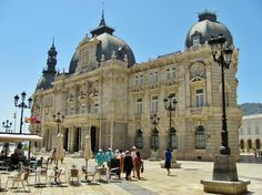 Palacio Consistorial de Cartagena en Murcia Sitges, Tenerife, Alicante, Cool Places To Visit, Places To Travel, Valladolid, Places In Spain, Beaux Villages, Carthage