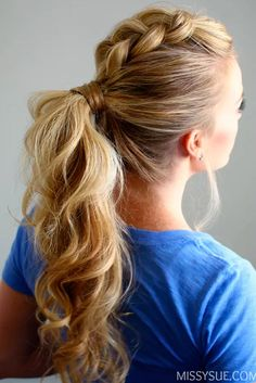 It is time to alter classic ponytail hairstyles and make them suitable for any occasion, not just a workout in the gym. Check out our fantastic ideas!