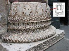 Temple of Venus Genetrix: Column base | Flickr – Condivisione di foto!