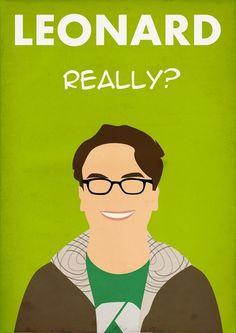 Leonard, The Big Bang Theory Cast - By Bantam The Big Band Theory, Big Bang Theory Penny, Big Beng, Himym, Nerd Love, Favorite Tv Shows, Pattern Ideas, Ol, Crochet Pattern
