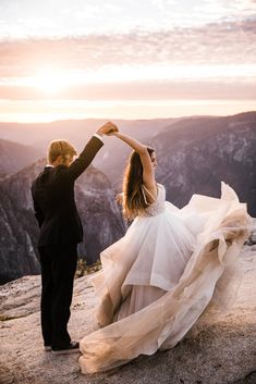yosemite national park intimate wedding at glacier point + hike to taft point - Epic Elopement Destinations - Elope Wedding, Wedding Poses, Wedding Shoot, Wedding Portraits, Wedding Ceremony, Destination Wedding, Dream Wedding, Wedding Ideas, Wedding Destinations