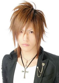 Trendy men haircut styles presents Asian Boys long hairstyles autumn and winter 2009